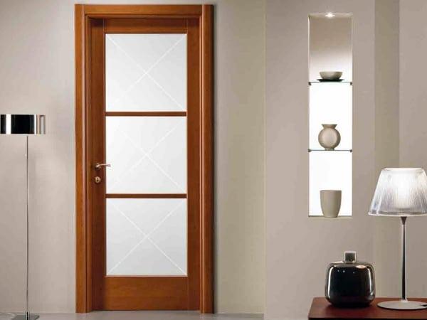 Porte da interno modena bianche economiche per appartamenti lisce laccate laminate vendita - Porte da interno economiche ...